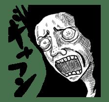 move,uzai choicowa no gekiga sticker #14072215