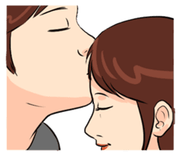 The Kissing sticker #14072756