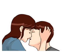 The Kissing sticker #14072759