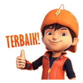 BoBoiBoy Galaxy sticker #14076542