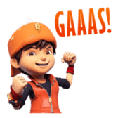 BoBoiBoy Galaxy sticker #14076557