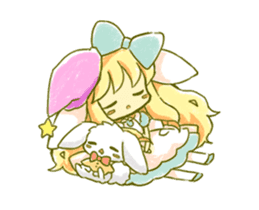 Picture book of Alice that moves sticker #14080416