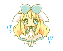 Picture book of Alice that moves sticker #14080423