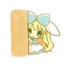 Picture book of Alice that moves sticker #14080424