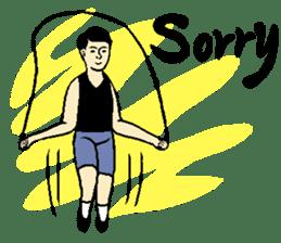 Why sports ? (new) sticker #14080546