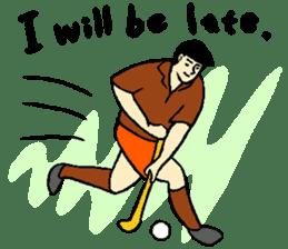 Why sports ? (new) sticker #14080551