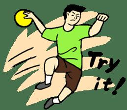 Why sports ? (new) sticker #14080558