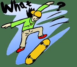 Why sports ? (new) sticker #14080572