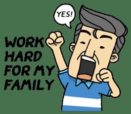 Kind Daddy 2 [English] sticker #14089150