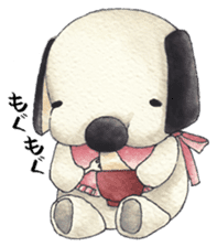 Red Cloak and Little Steamed Bun 2 sticker #14095460