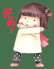 Red Cloak and Little Steamed Bun 2 sticker #14095464