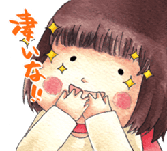 Red Cloak and Little Steamed Bun 2 sticker #14095468