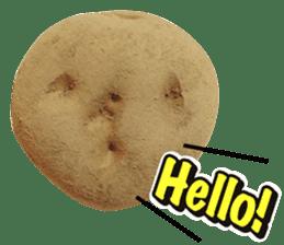 Words of Potato sticker #14095672
