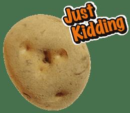 Words of Potato sticker #14095673
