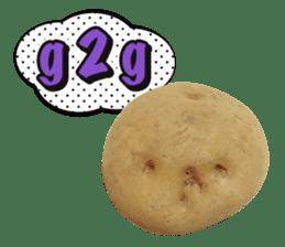 Words of Potato sticker #14095675