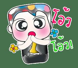 Hello! My name is Shiba. ^_^ sticker #14097298