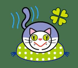 Cat THE POOTON 2 sticker #14097662