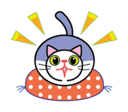 Cat THE POOTON 2 sticker #14097668