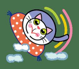 Cat THE POOTON 2 sticker #14097670