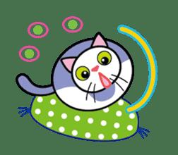 Cat THE POOTON 2 sticker #14097677