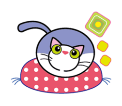 Cat THE POOTON 2 sticker #14097680