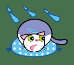 Cat THE POOTON 2 sticker #14097684