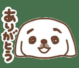Pekingese TONTON sticker #14097872