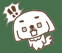 Pekingese TONTON sticker #14097875