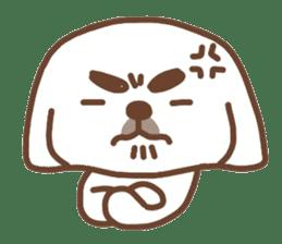 Pekingese TONTON sticker #14097879