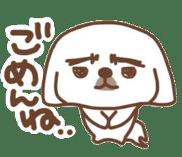 Pekingese TONTON sticker #14097880