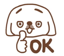 Pekingese TONTON sticker #14097882
