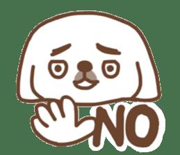 Pekingese TONTON sticker #14097883