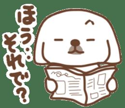 Pekingese TONTON sticker #14097890