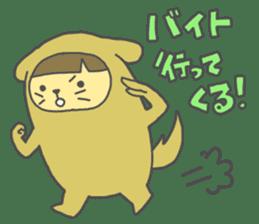 Idols love animals sticker #14098017