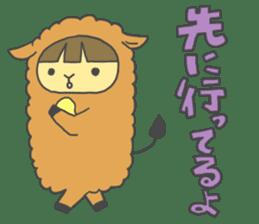 Idols love animals sticker #14098027