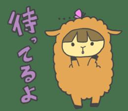 Idols love animals sticker #14098028