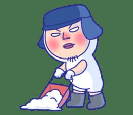Shirome&Omame winter sticker #14099307