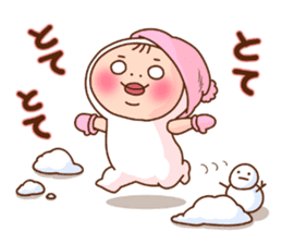 Shirome&Omame winter sticker #14099308