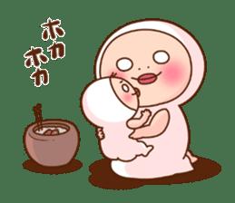 Shirome&Omame winter sticker #14099311