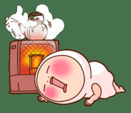 Shirome&Omame winter sticker #14099315