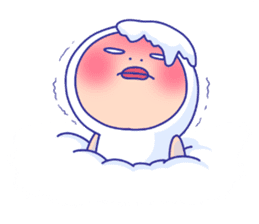 Shirome&Omame winter sticker #14099324