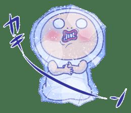 Shirome&Omame winter sticker #14099325