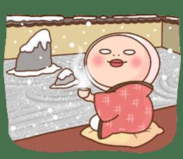 Shirome&Omame winter sticker #14099327