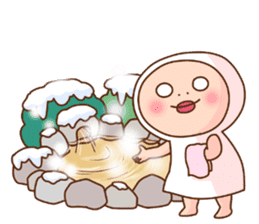 Shirome&Omame winter sticker #14099328