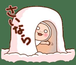 Shirome&Omame winter sticker #14099333