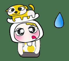Mr. Yamada . I love dog.^_^ sticker #14099689