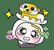 Mr. Yamada . I love dog.^_^ sticker #14099704