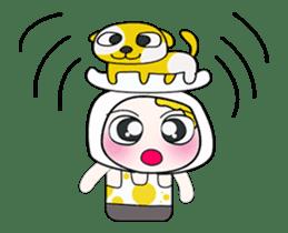 Mr. Yamada . I love dog.^_^ sticker #14099706