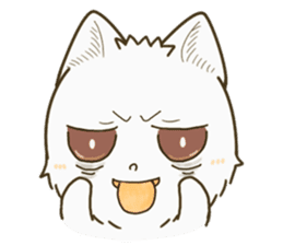 QQ fox-face sticker #14099804