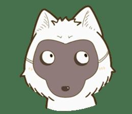 QQ fox-face sticker #14099816